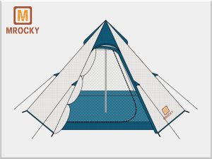 Outdoor Backpacking Tents 2 Person BT-NAL07