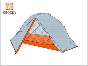 Outdoor lightweight Backpacking Tents 1 Person 3 Season & 4 Season BT-NAL21