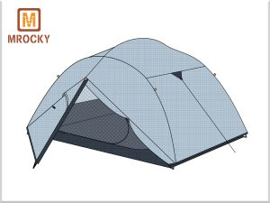 Outdoor Backpacking 3 Person Hiking Tent  BT-NAL22
