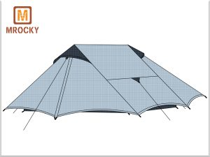 Lanshan2 style tents Outdoor Ultralight Backpacking Tents 2 Person BT-NAL12